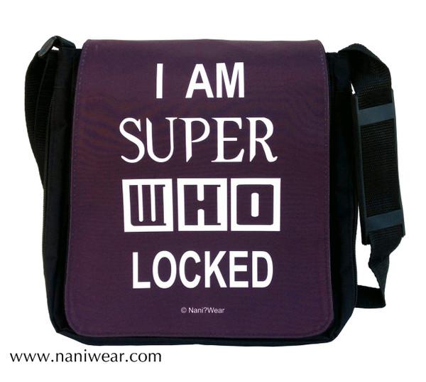 SuperWhoLock Medium Messenger Bag - Nani Wear 7744ab8e02900