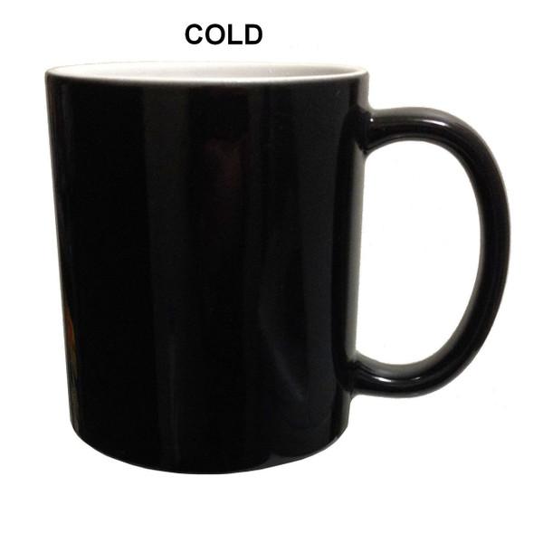 Doctor Who Color Change Mug The Silence