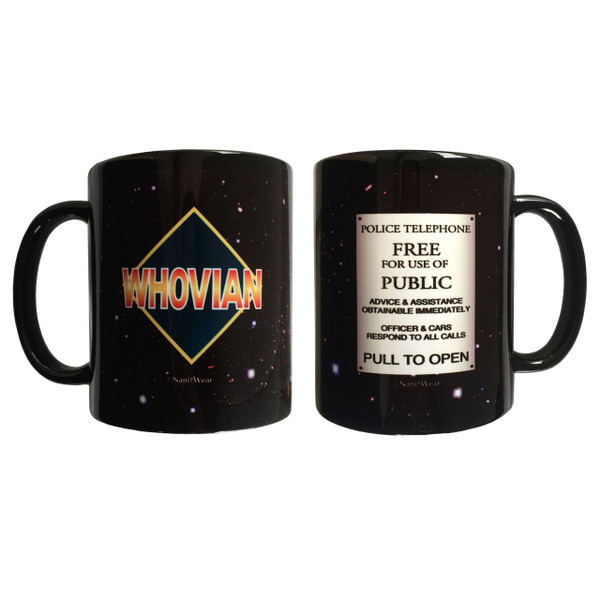 Doctor Who Inspired Double-sided Mug: Whovian