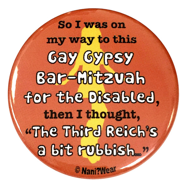 Doctor Who River Song 2.25 Inch Button Gay Gypsy Bar Mitzvah