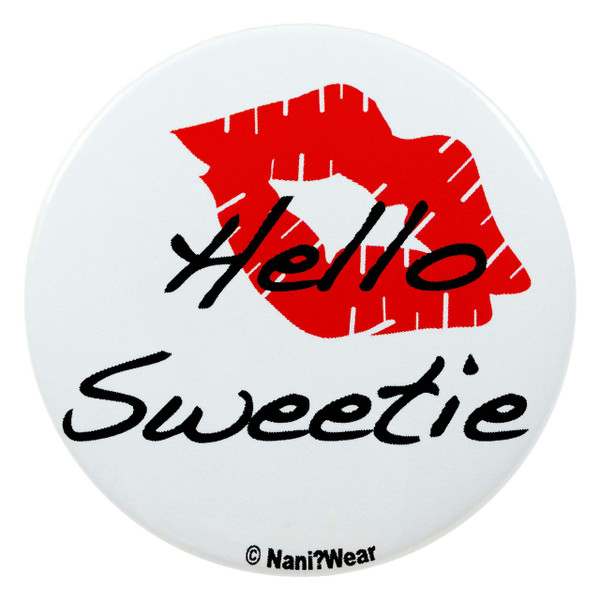Doctor Who River Song 2.25 Inch Button Hello Sweetie