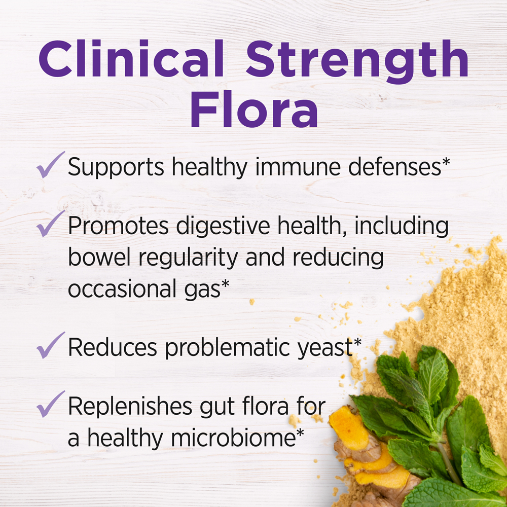 Clinical Strength Flora