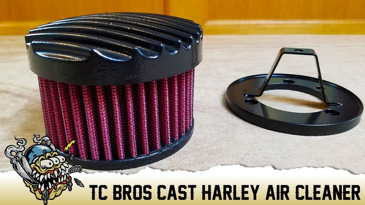 TC Bros Harley Davidson Cast Air Cleaners