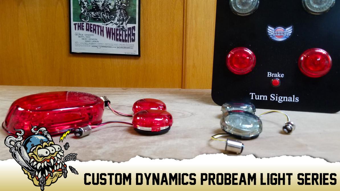 Custom Dynamics ProBeam LED Tail Lights & Turn Signals