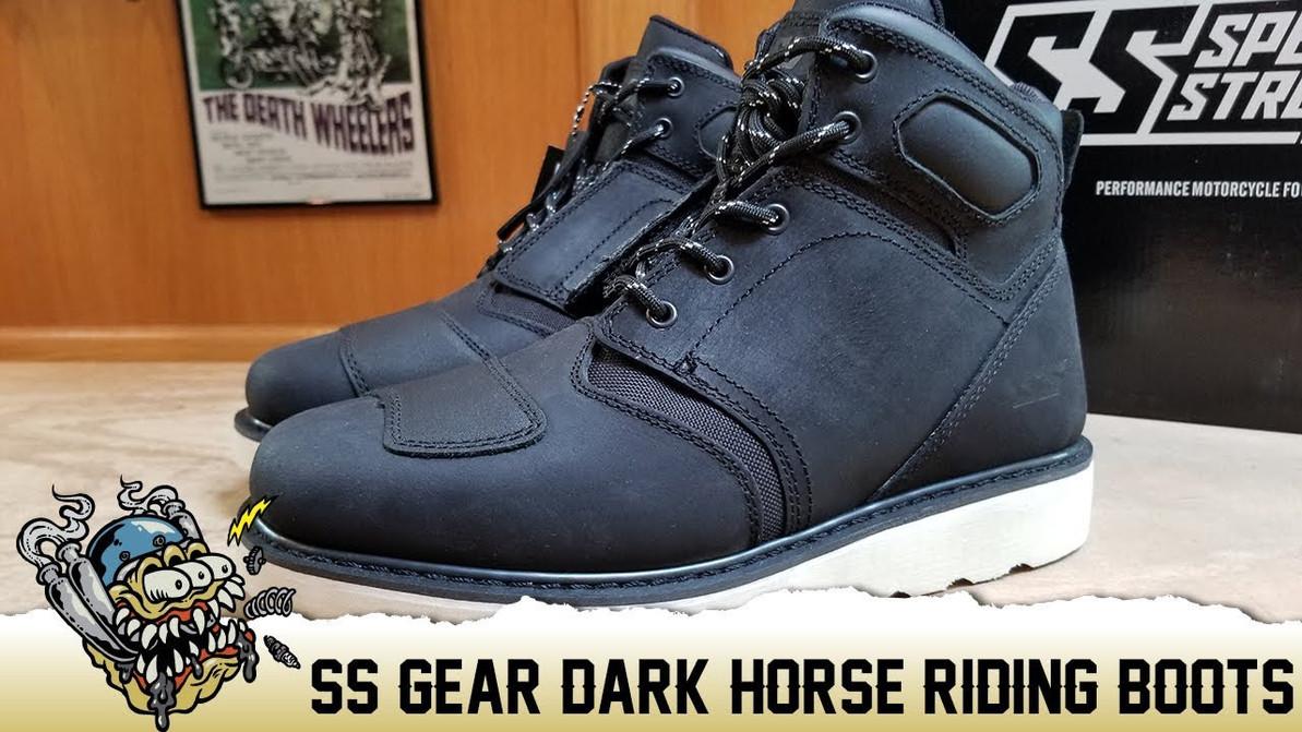 Speed & Strength Dark Horse Riding Boot