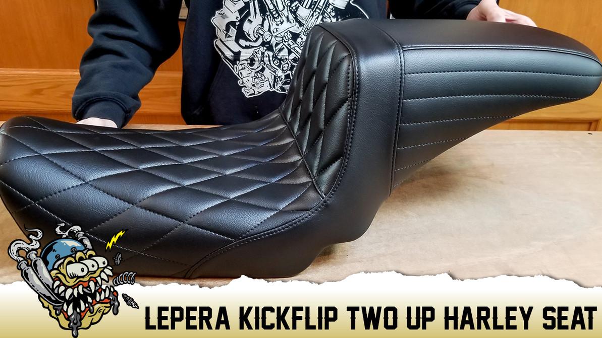Le Pera Kick Flip Harley Davidson Seat