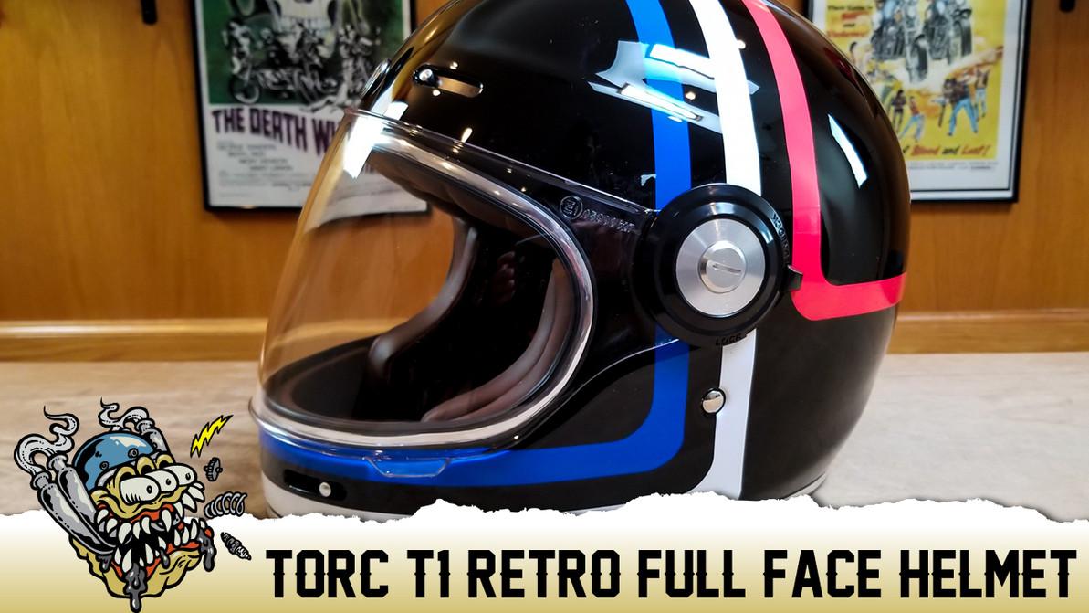 Torc T-1 Retro Full Face Helmets