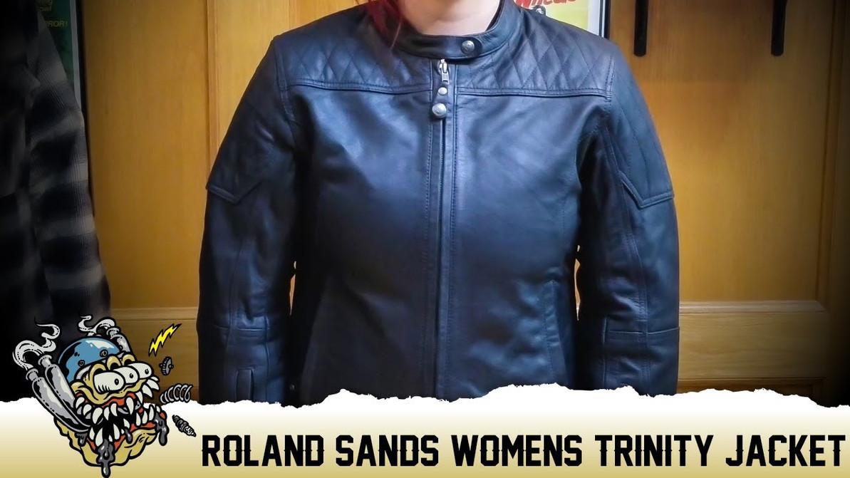Roland Sands Womens Trinity Leather Jacket