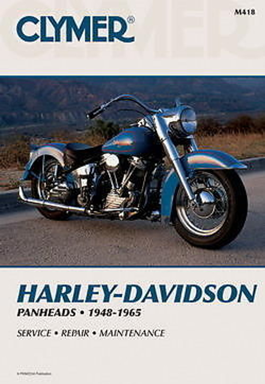 clymer harley davidson panhead service manual 1948 1965 rh deadbeatcustoms com Harley-Davidson Service Manual PDF Harley-Davidson Exhaust