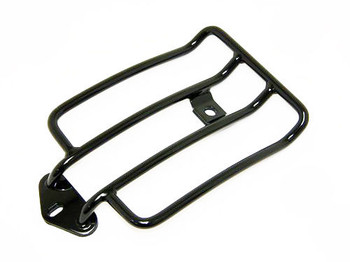 Luggage Rack Black '04 - '12 Sportster with Solo Seat - Std. Models