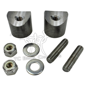 TC Bros Choppers - Weld On Threaded Solo Seat Spring Mounts