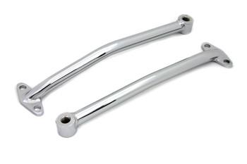 Rear Fender Brace Set for Rigid - Chrome