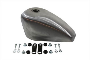 V-Twin - Sportster Style 2.4 Gallon Gas Tank - Frisco Strap Mounts