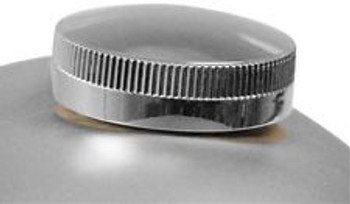Paughco - Long Skirted Cam Style Gas Cap  Wide Knurling