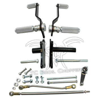 TC Bros Choppers  - Sportster Forward Controls Kit for 91-03 5 Speed