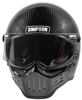 Simpson Helmets - M30 DOT Approved Helmet - Carbon Fiber