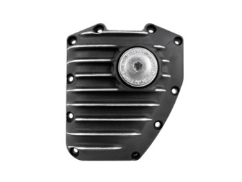 EMD - Ribbed Cam Cover fits: Twin Cam '99-Up - Black