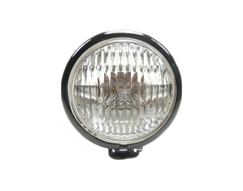 "Black 4.5"" Headlight - Clear Lens"
