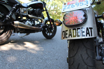 Deadbeat Customs - Deadbeat Vinyl Decal - Black