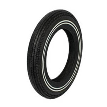 "Coker Tires - Replica Super Eagle 5.00 X 16"" Double Whitewall"