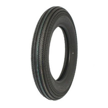 "Coker Tires -  Replica Super Eagle Shinko HD270 5.00 X 16"" Blackwall"
