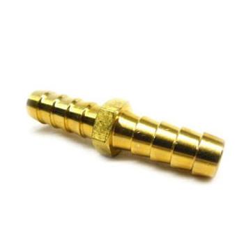 """3/8"""" Hose Barb Splicer Brass"""