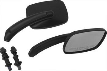 HardDrive - Rectangular Custom Die Cast Mirror - Black