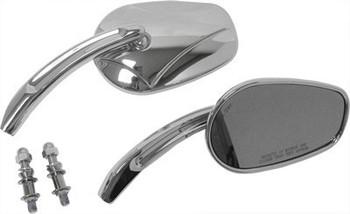 HardDrive - Arrow Head Custom Die Cast Mirror - Chrome