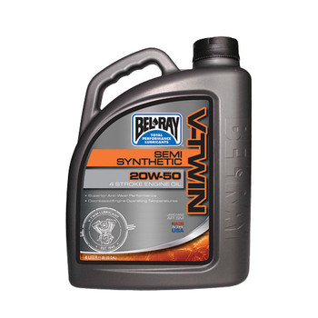 Bel Ray - V-Twin Semi-Synthetic Engine Oil 20W-50 4L