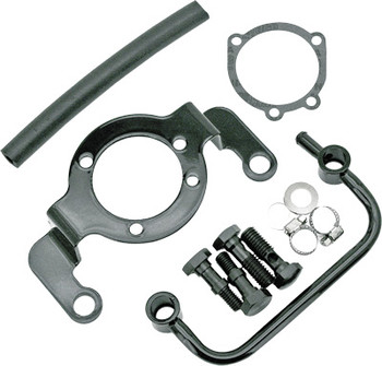 HardDrive - Air Cleaner Bracket w/ Bolts and Breather Tube - Fits '93-'99 Big Twins