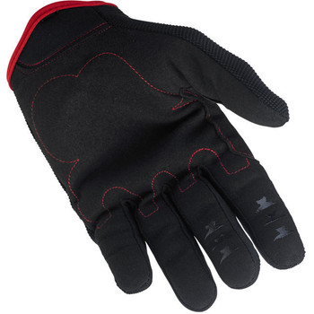 Biltwell Inc. - Moto Gloves - Black/Red