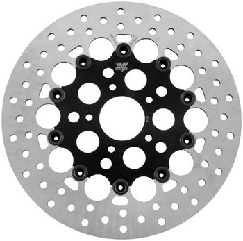 Twin Power - Rear Rotor Floating Hole - Fits '84-'15 HD Models (exc. '86-'15 Touring)
