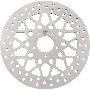 Twin Power - Rear Rotor Solid Mesh - Fits '84-'15 HD Models (exc. '86-'15 Touring)