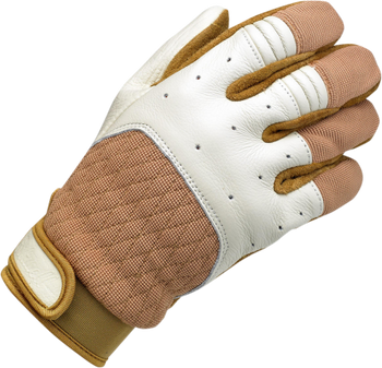Biltwell Inc. - Bantam Gloves - White/ Tan