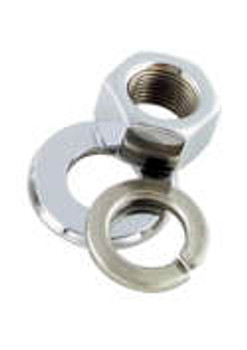 Colony - Front Axle Nut and Washer Kit - Fits '46-'71 Big Twin