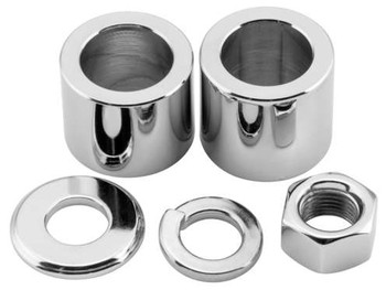 Colony - Rear Axle Nut and Spacer Kits - Fits Dynas