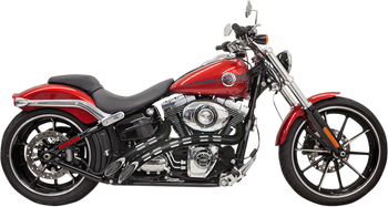 Bassani - Radial Sweeper Exhausts - fits Harley FX, FL, and FXD (see desc.)
