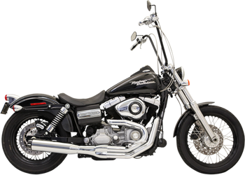 Bassani - Road Rage II B1 Power 2-into-1 Systems - Chrome fits '91-'16 FXD, FXDWG W/ Mid or Forward Control (Except FLD)