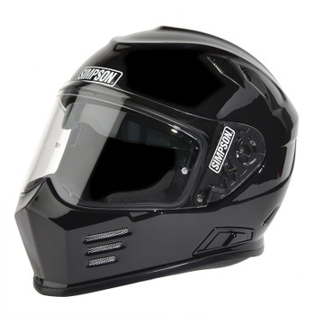 Simpson Helmets - Ghost Bandit DOT Approved Helmet - Gloss Black