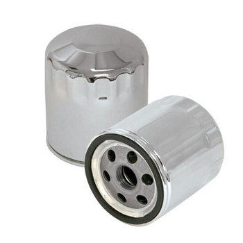 S&S - Harley Oil Filter - fits '84-'99 Big Twin & '86-Up XL Sportsters - Chrome