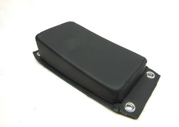 V-Twin - Rear Passenger Pillion Pad Leather - Smooth