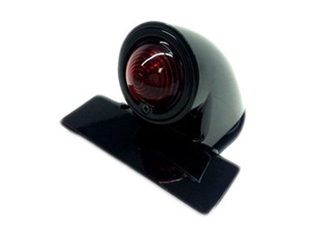Motorcycle Taillight Black Sparto Style 12V