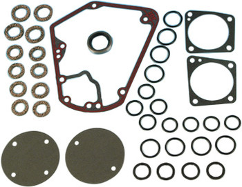 James Gaskets - Cam Quick Change Gasket Seal Kit Metal w/ Bead - fits '70-'92 FLT, FXR, Softail