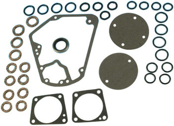 James Gaskets - Cam Cover Gasket Seal Kit - fits '70-'92 FL, FLH, FLT, FXR, Softail