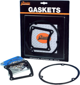 James Gaskets - Inspection-Clutch Derby Cover Gasket Kit - fits '85-'98 Big Twin