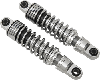 Drag Specialties - Ride-Height Adjustable Shocks - Chrome fits '91-'16 FXD/FXDWG