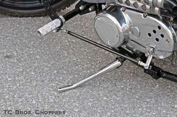 TC Bros Choppers Forward Controls Universal Linkage Kit (assembled on bike)