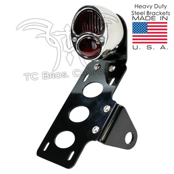 TC Bros Choppers Model A Tail Light License Plate Bracket