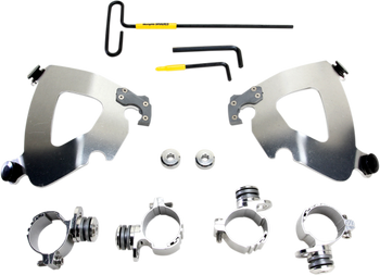 Memphis Shades - Trigger-Lock Mount Kit - Polished fits '11-'16 XL 1200