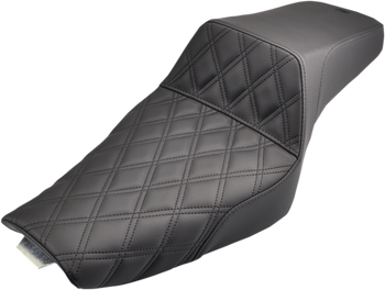 Saddlemen - Step Up Diamond Stitched Seat - fits '04-'16 Sportsters (see desc.)